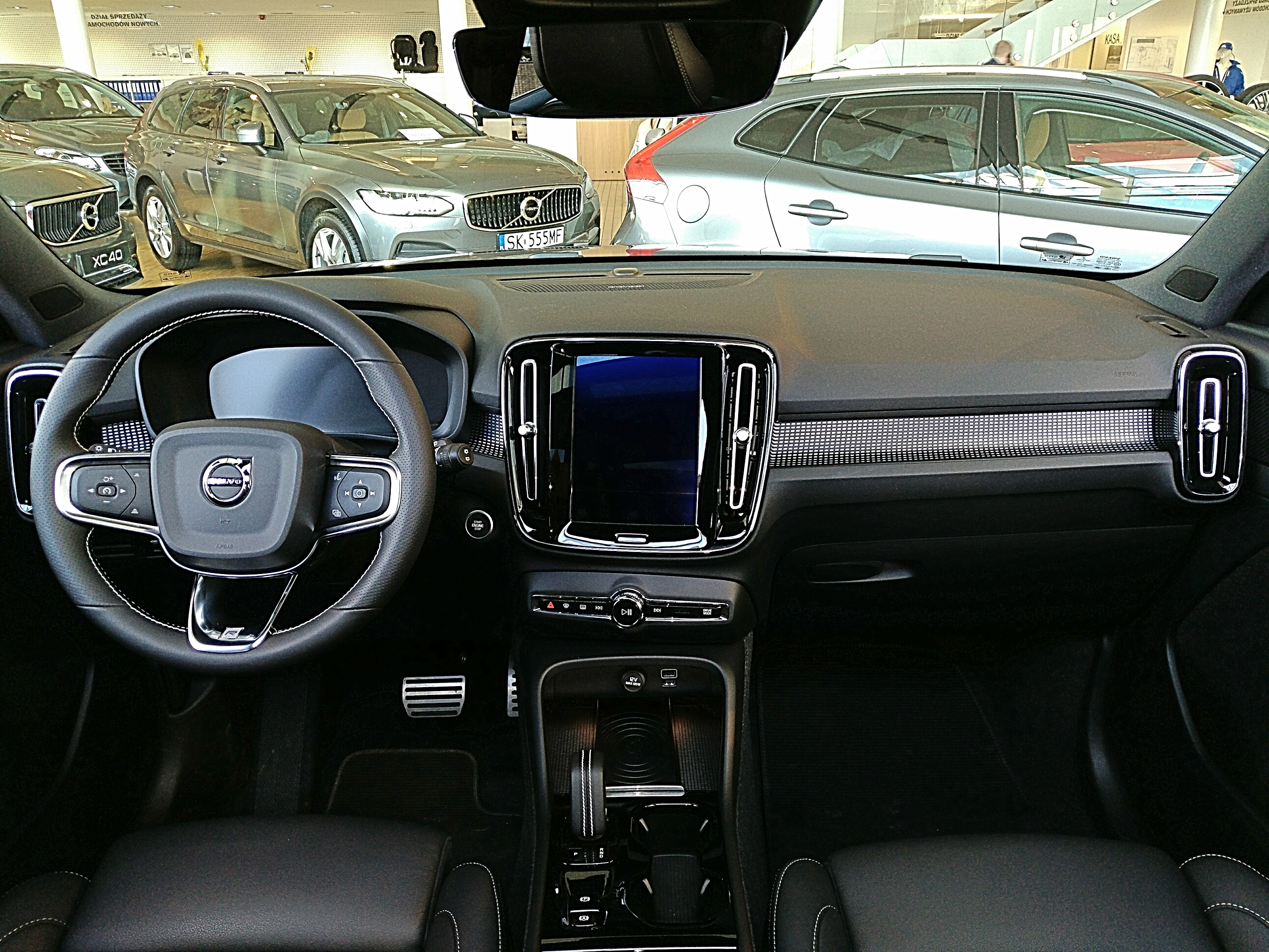 File Volvo Xc40 2018 Interior Jpg Wikimedia Commons