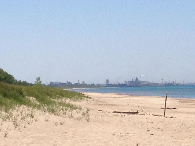 Wells Street Beach Miller Beach.JPG
