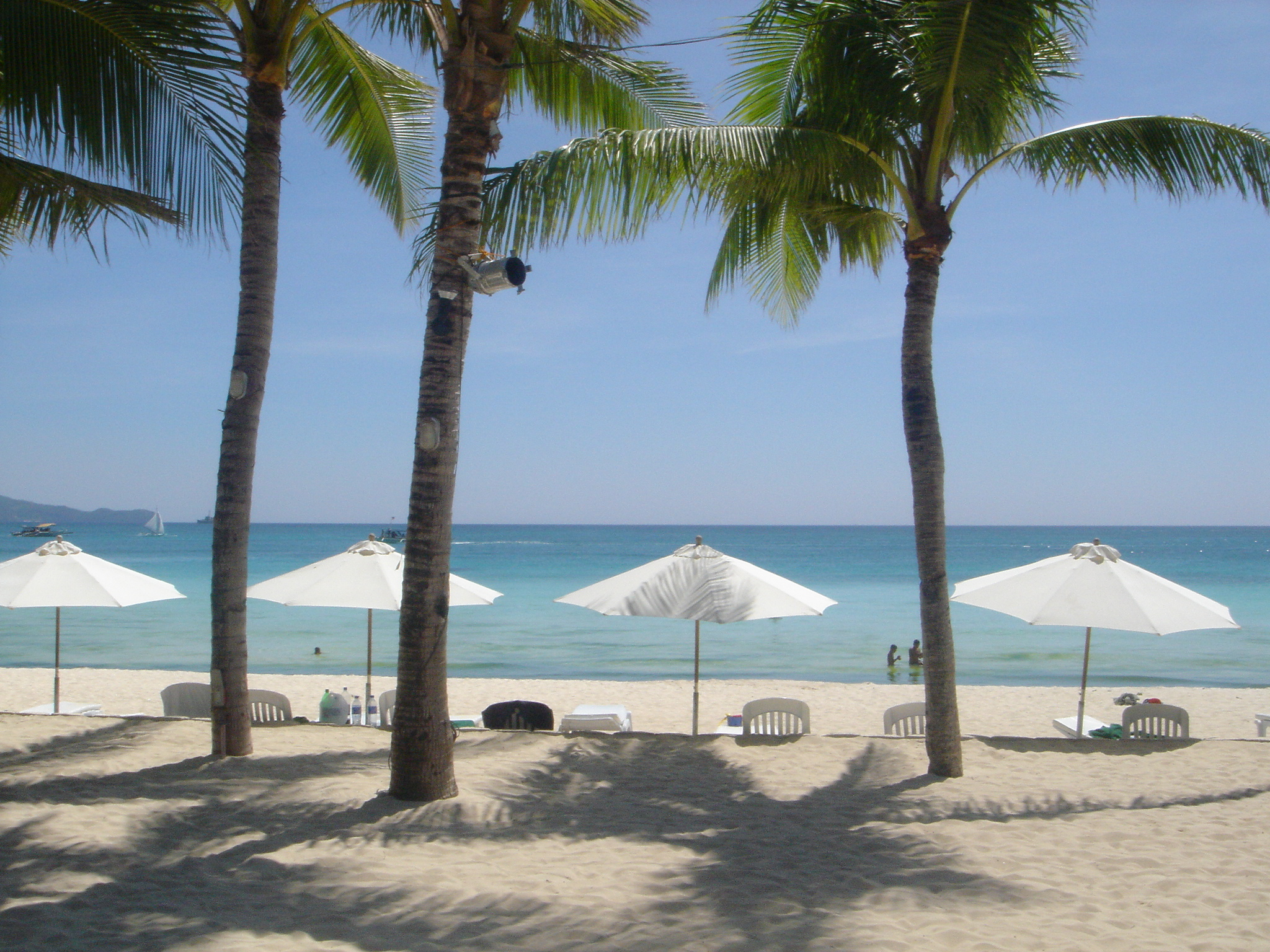 Boracay White Beach Hotels Map
