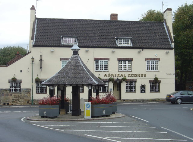 Creative Commons image of The Admiral Rodney in Nottingham