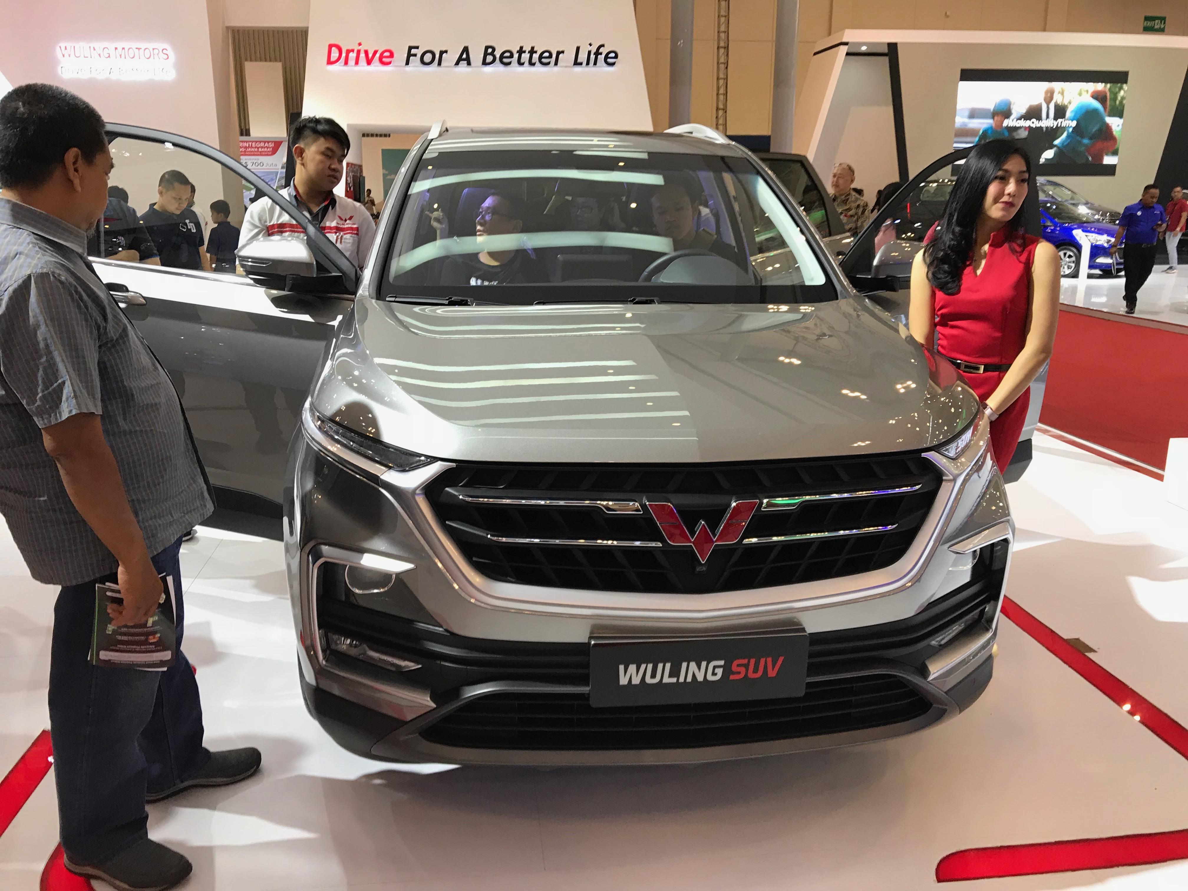 2018 - [Baojun/Wuling/Chevrolet/MG] 530/Almaz/Captiva/Hector Wuling_SUV_%28Baojun_530%29