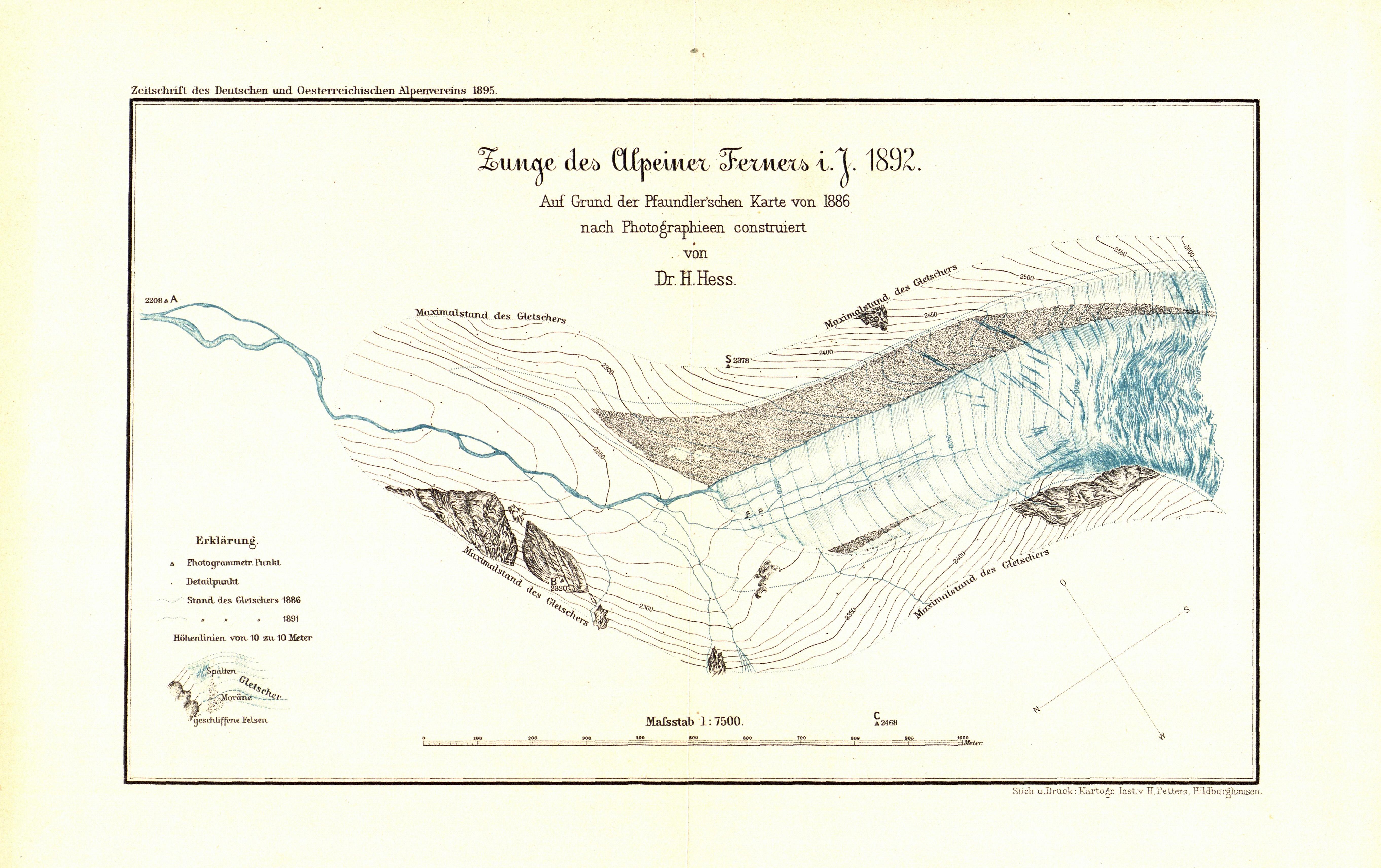 File:Zunge des Alpeiner Ferners im Jahr 1892.jpg - Wikimedia Commons