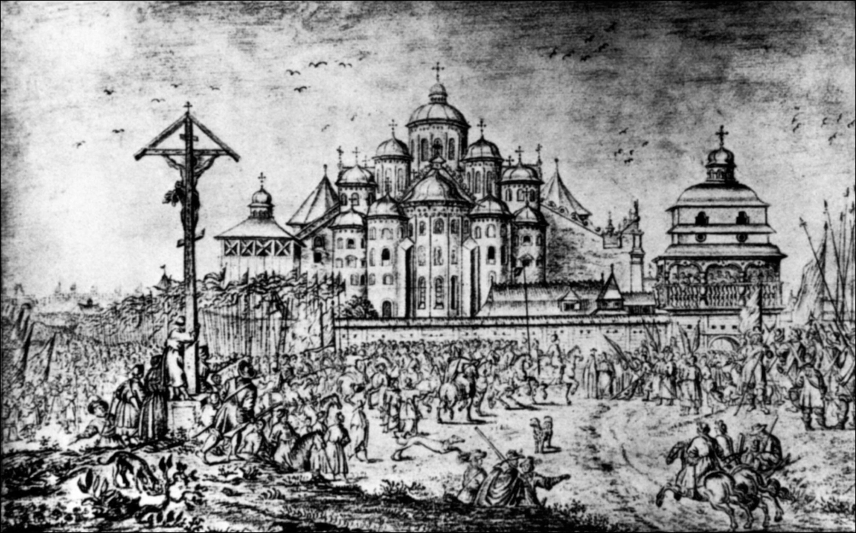 Софійський собор у 1651 році. Рисунок Абрагама ван Вестерфельда 19aea55075ea5