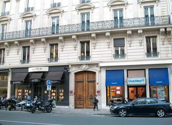 Rue Du Faubourg Du Temple Restaurant