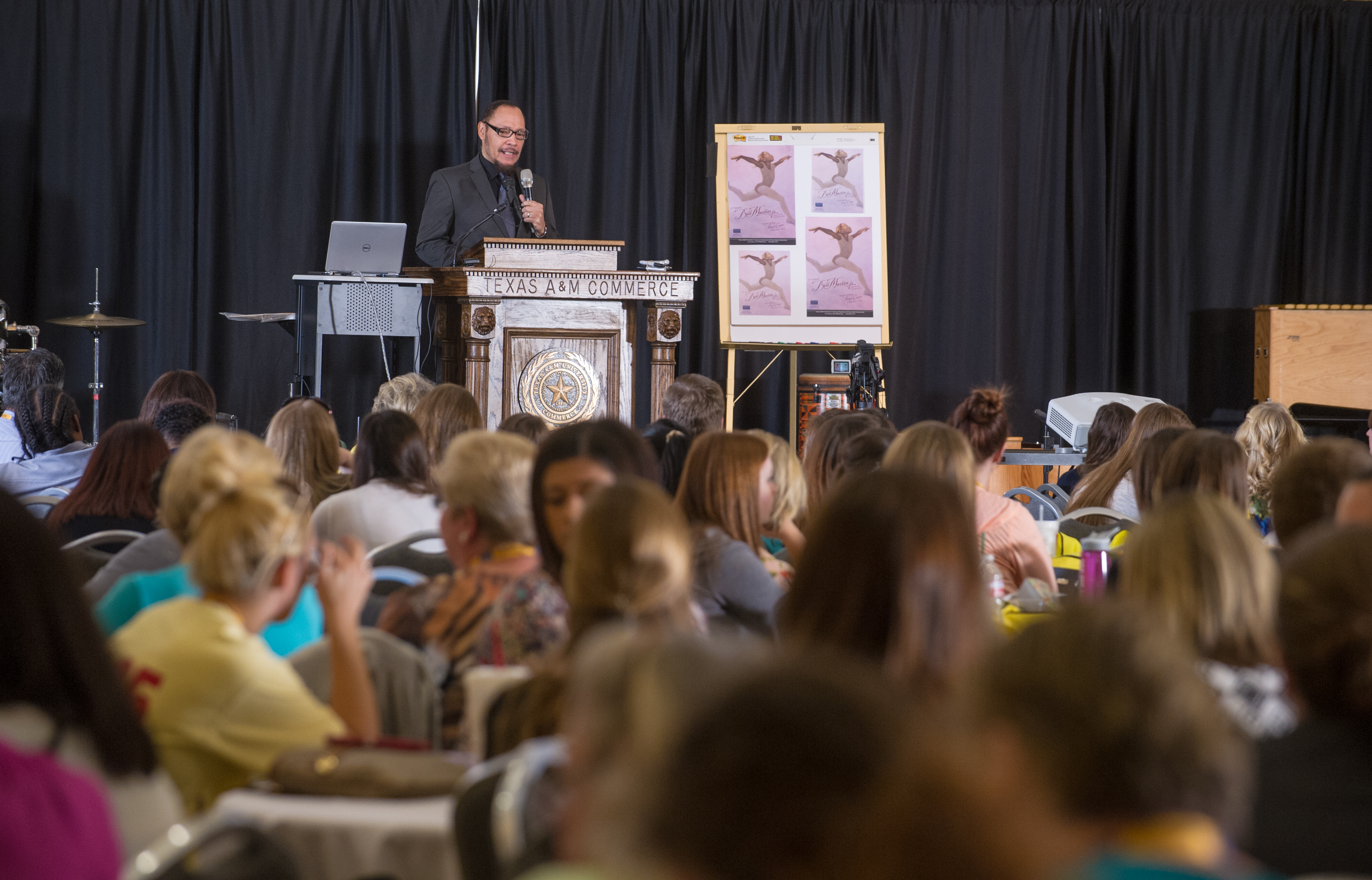 The 2015 Bill Martin Jr. Symposium at [[Texas A&M University–Commerce