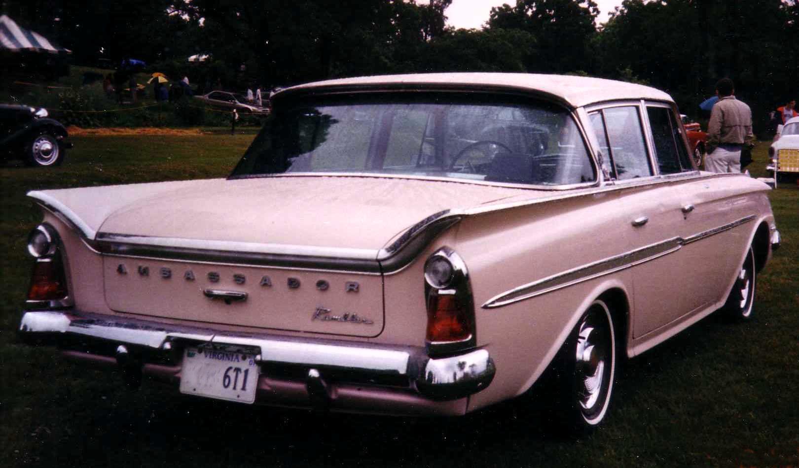 amc ambassador 1961 rambler ambassador sedan