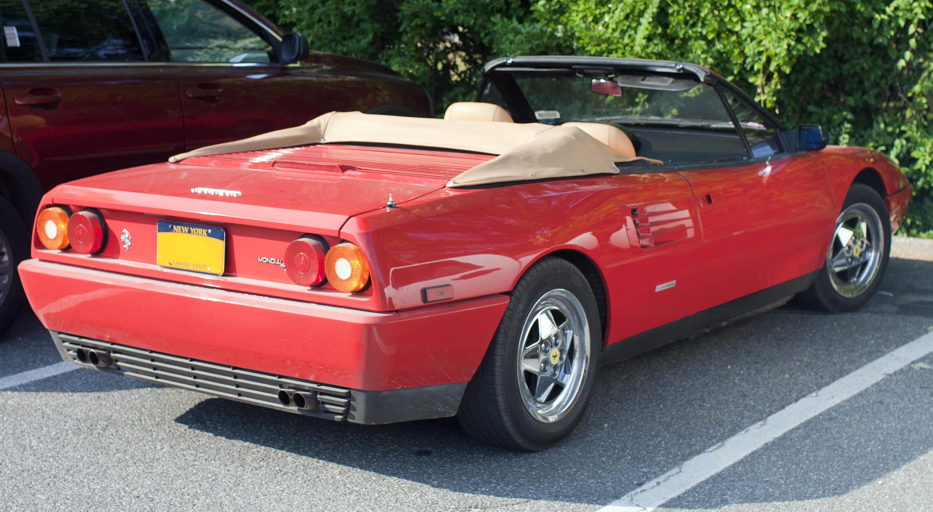 1991_Ferrari_Mondial_t_cabriolet Fabulous Ferrari Mondial T In Vendita Cars Trend