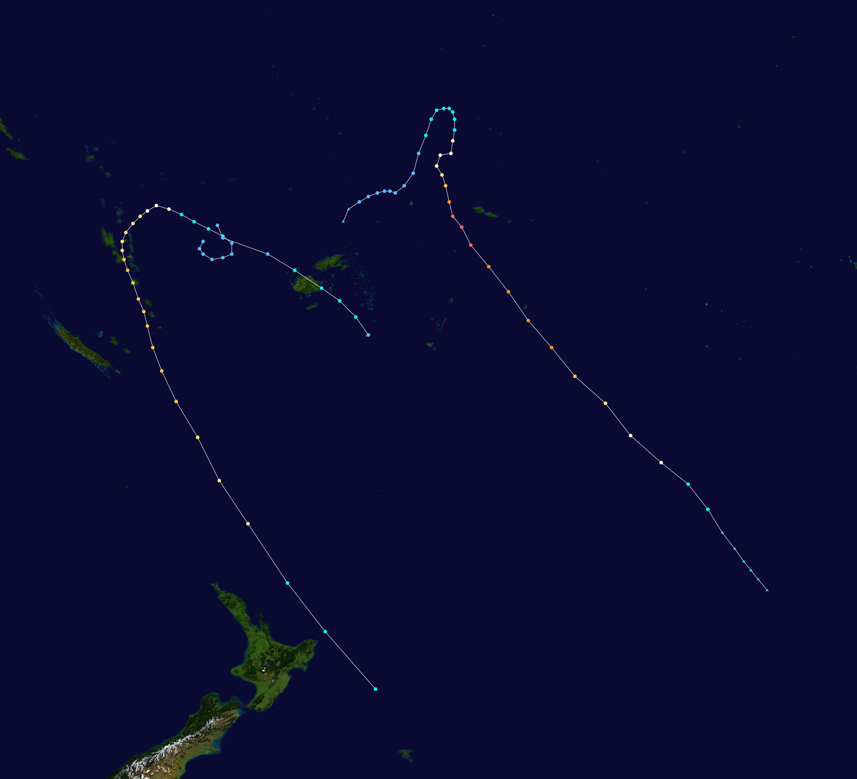 2cb15421e22 Timeline of the 2003–04 South Pacific cyclone season - Wikipedia