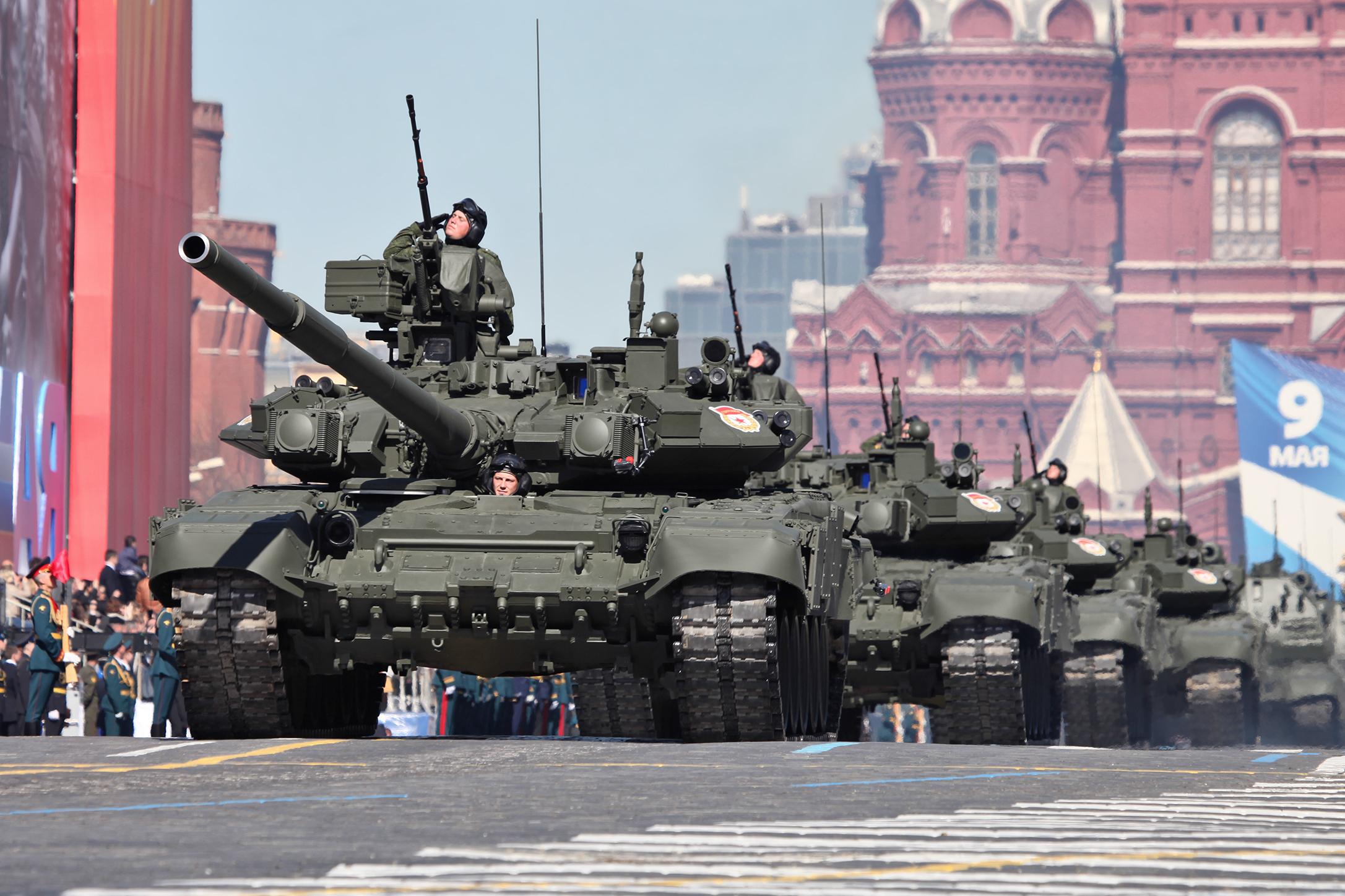 俄罗斯红场大阅兵:《神圣的战争》再次响彻红场上空 - 纽约客 - 纽约大图