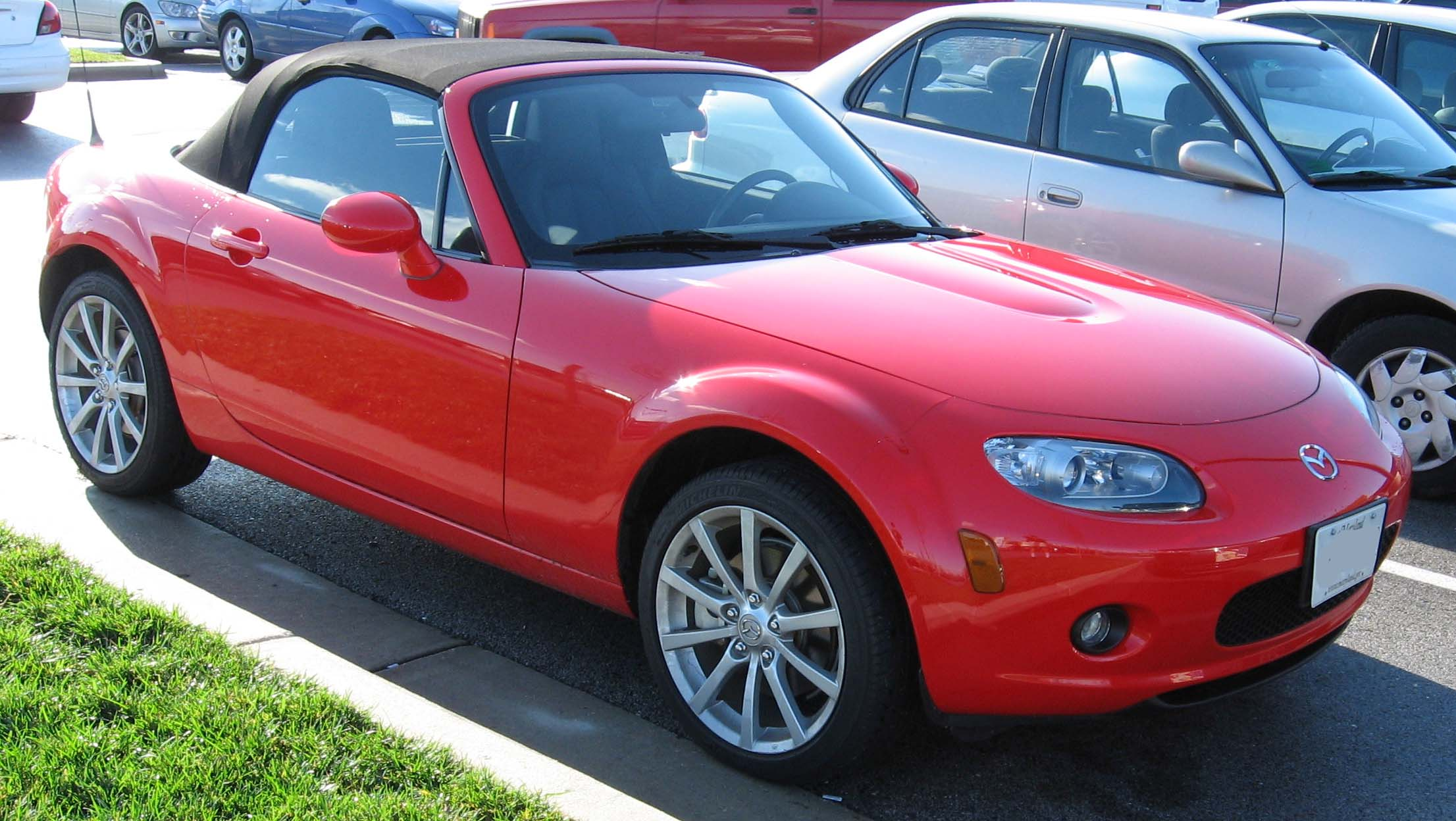 File 2nd Mazda Mx 5 Jpg Wikimedia Commons