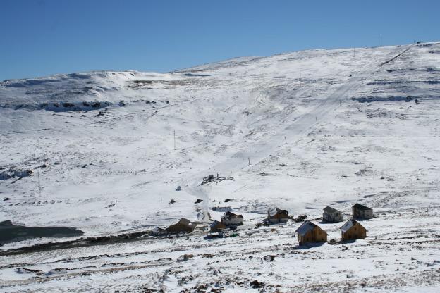 Resor Afriski di Pegunungan Maloti, Lesotho