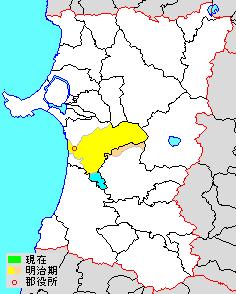 Kawabe District, Akita