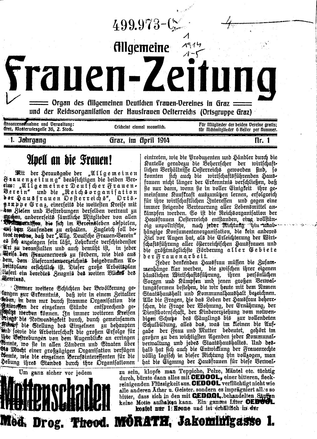 allgemeine frauen zeitung 1914 wikipedia. Black Bedroom Furniture Sets. Home Design Ideas