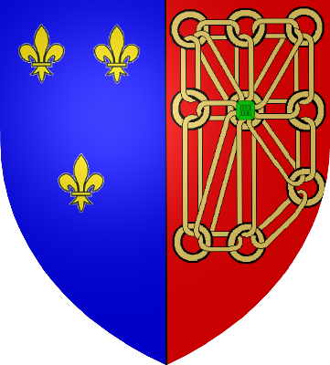 File Armoiries France Et Navarre Png Wikimedia Commons