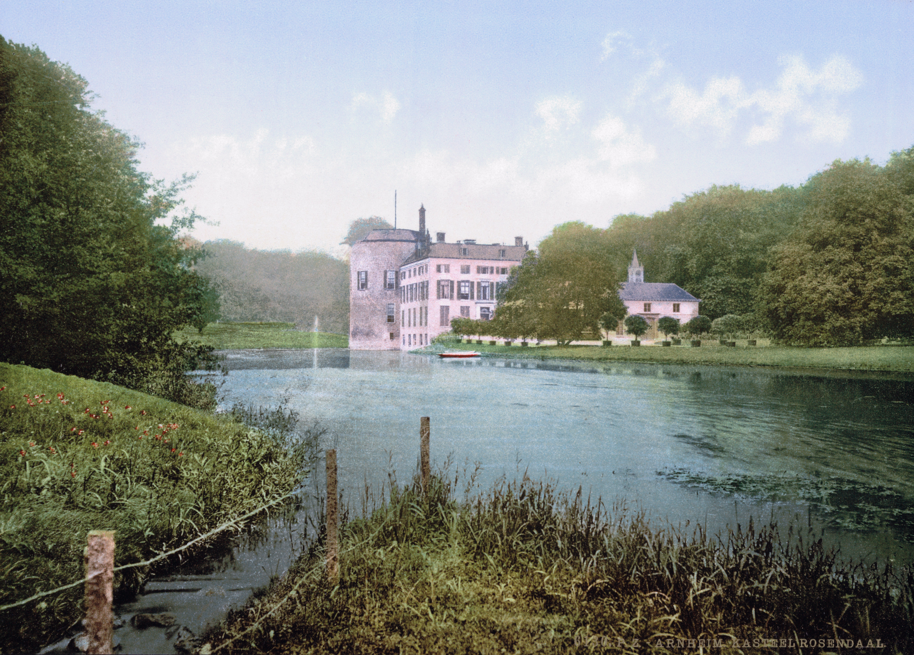 File:Arnhem - Kasteel Rosendael 1900.jpg - Wikimedia Commons