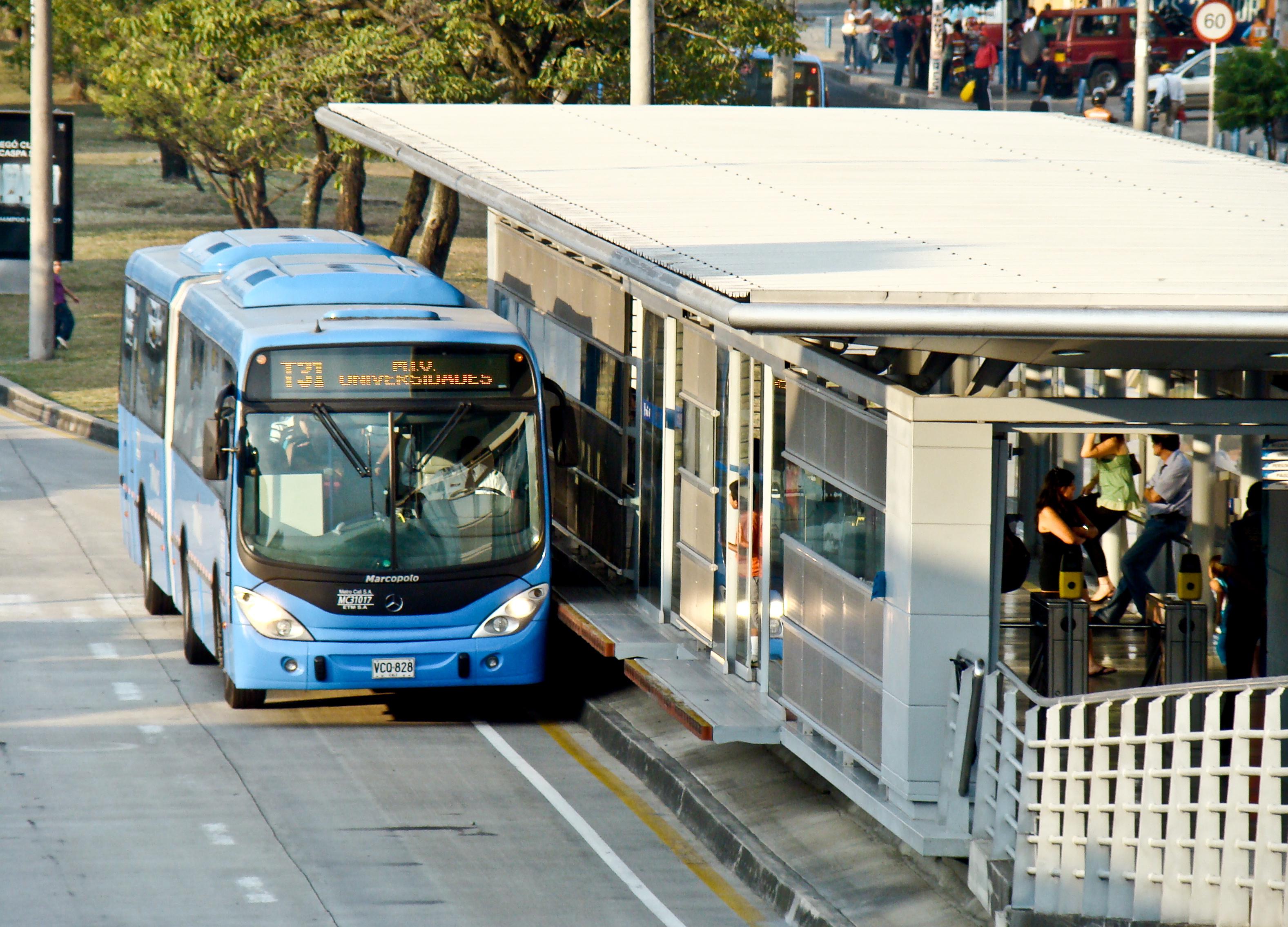 Description BRT  Santiago De Cali Station