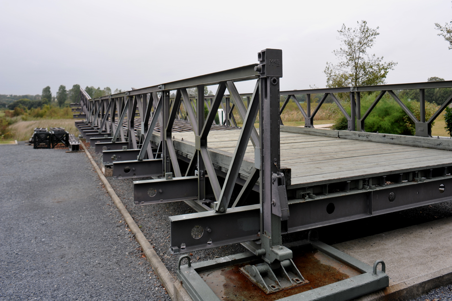 Portable Bridge Construction : Bailey bridge military wiki fandom powered by wikia