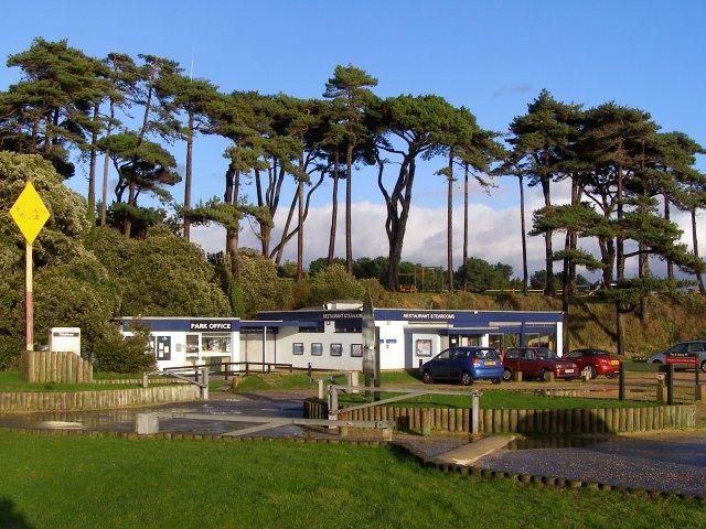 Beach car park facilities, Lepe Country Park - geograph.org.uk - 284345