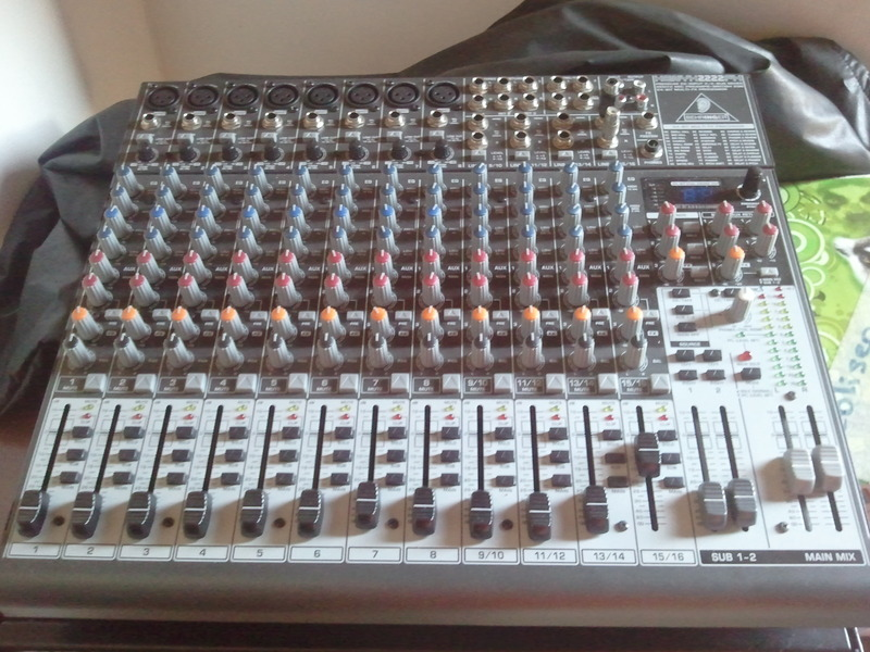 BEHRINGER XENYX 2222FX DRIVERS DOWNLOAD