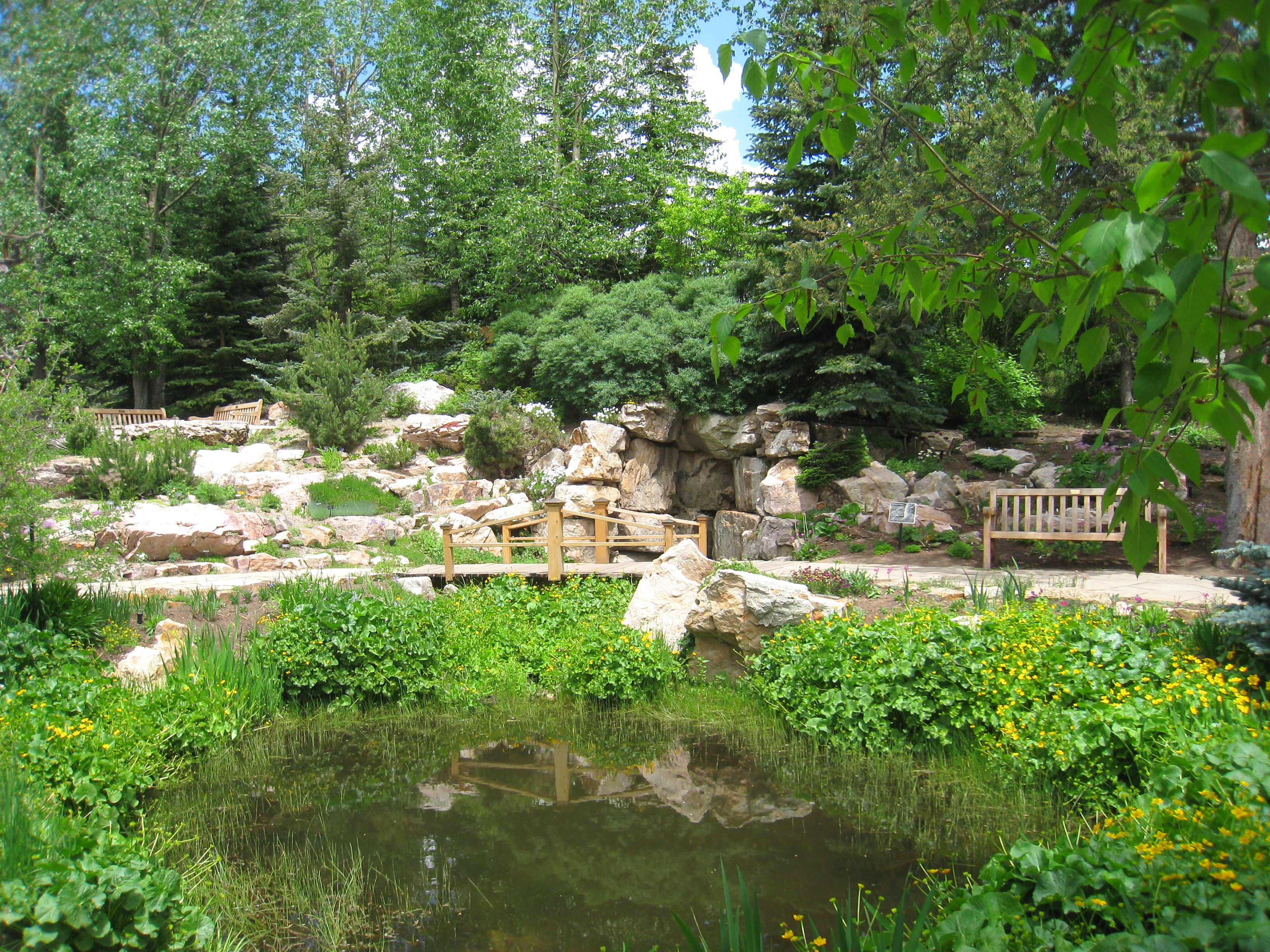 Etonnant File:Betty Ford Alpine Gardens, Vail, CO   Pond