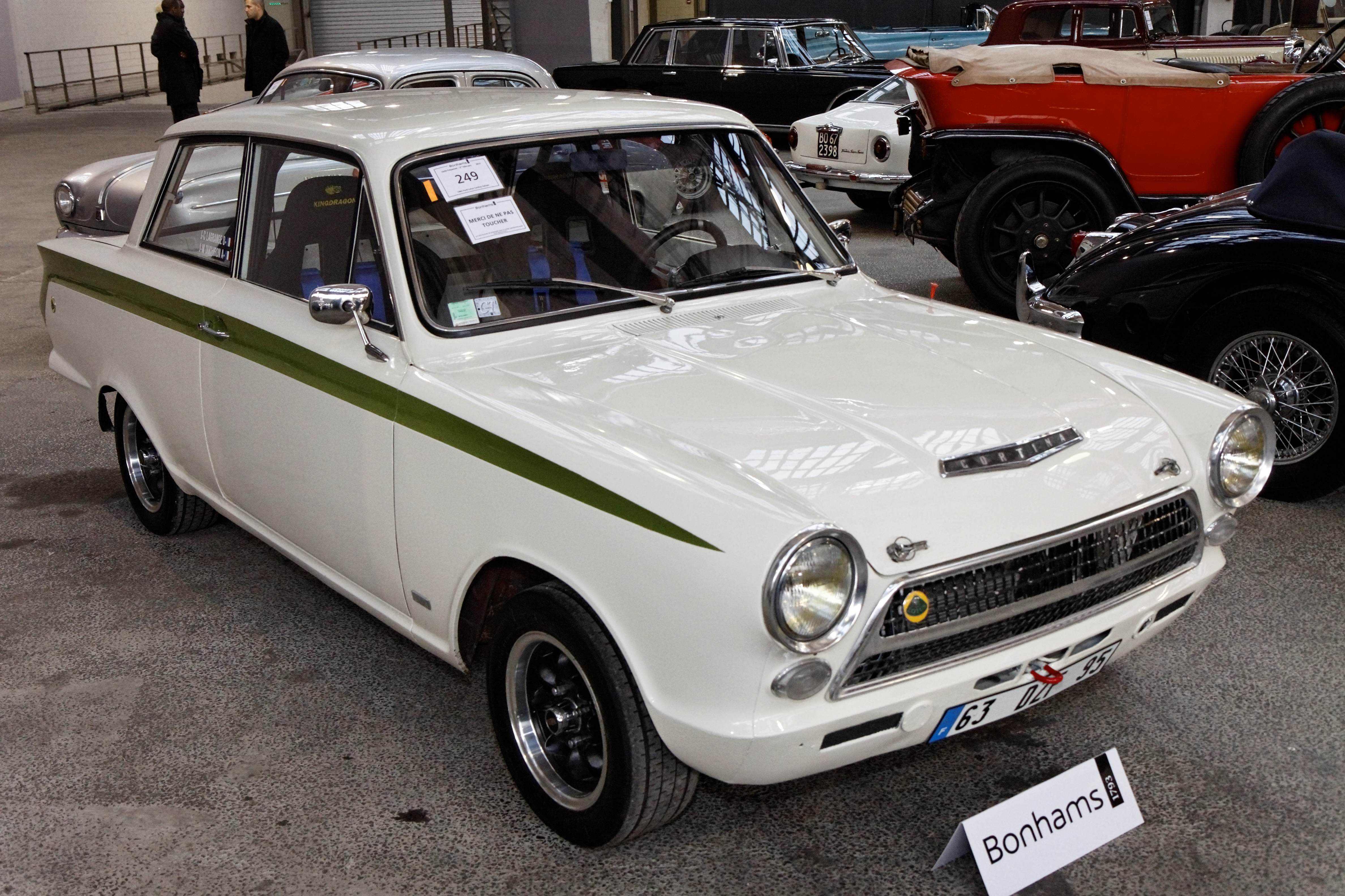 File:Bonhams - The Paris Sale 2012 - Ford Lotus Cortina Saloon ...