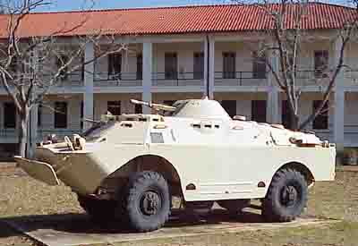 Depiction of BRDM-2