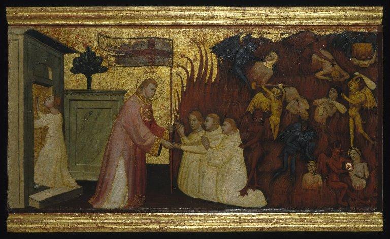 File:Brooklyn Museum - Saint Lawrence Liberates Souls from Purgatory - Lorenzo di Niccolò.jpg
