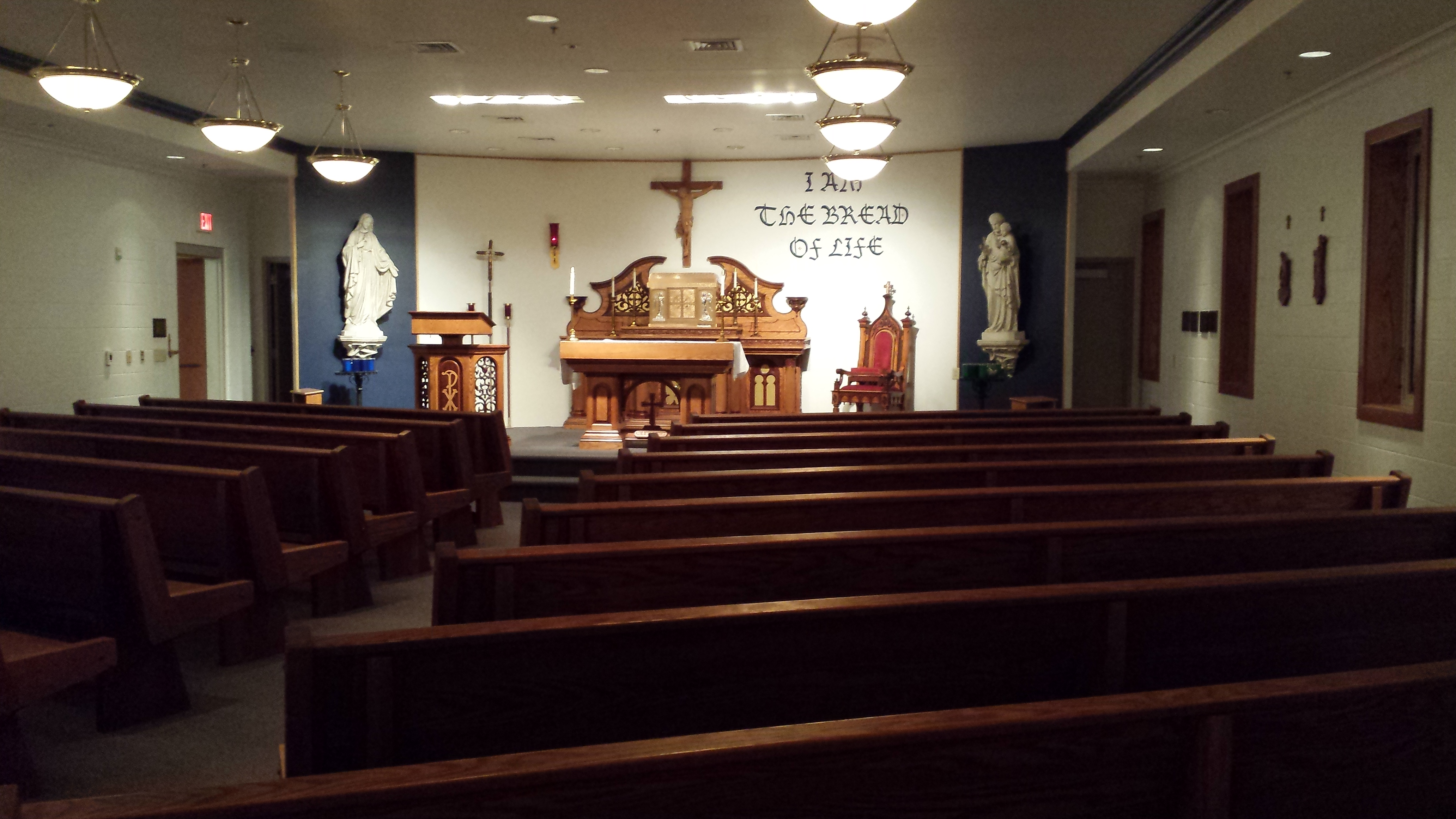 File:Central Catholic High School chapel jpg - Wikimedia Commons
