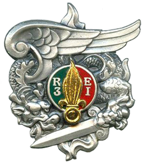 parachute company of the 3rd Foreign Infantry Regiment. - French Foreign Legion