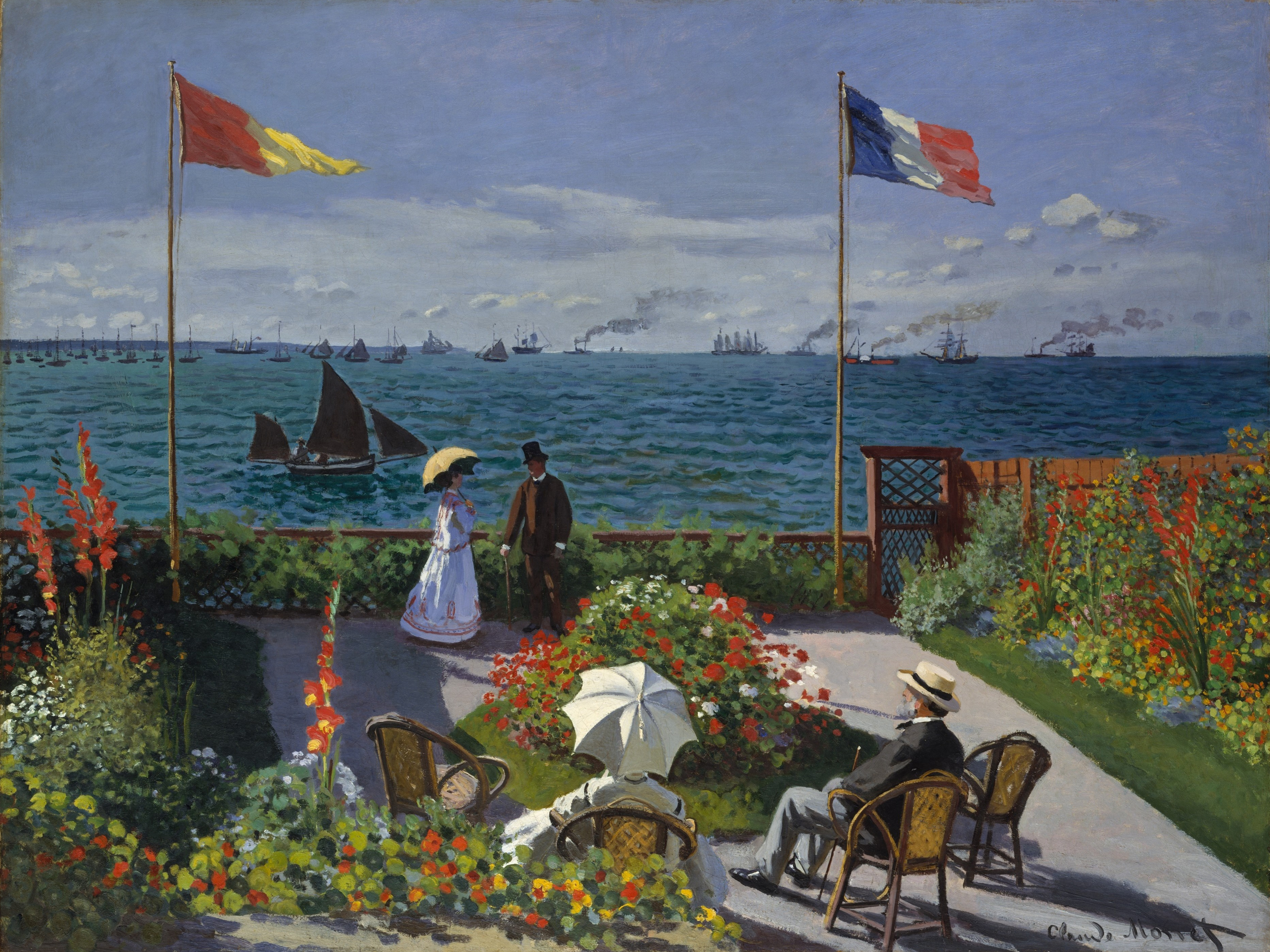 http://upload.wikimedia.org/wikipedia/commons/a/a0/Claude_Monet_-_Jardin_%C3%A0_Sainte-Adresse.jpg