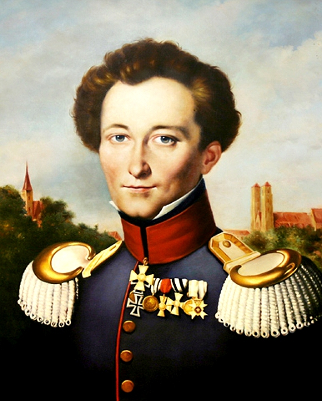 Clausewitz while in Prussian service