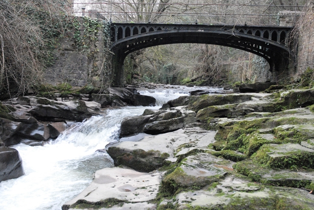 Clydach Gorge Iron Bridge - geograph.org.uk - 299475