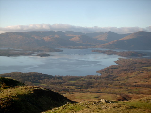 Conic Hill Summit - geograph.org.uk - 617755