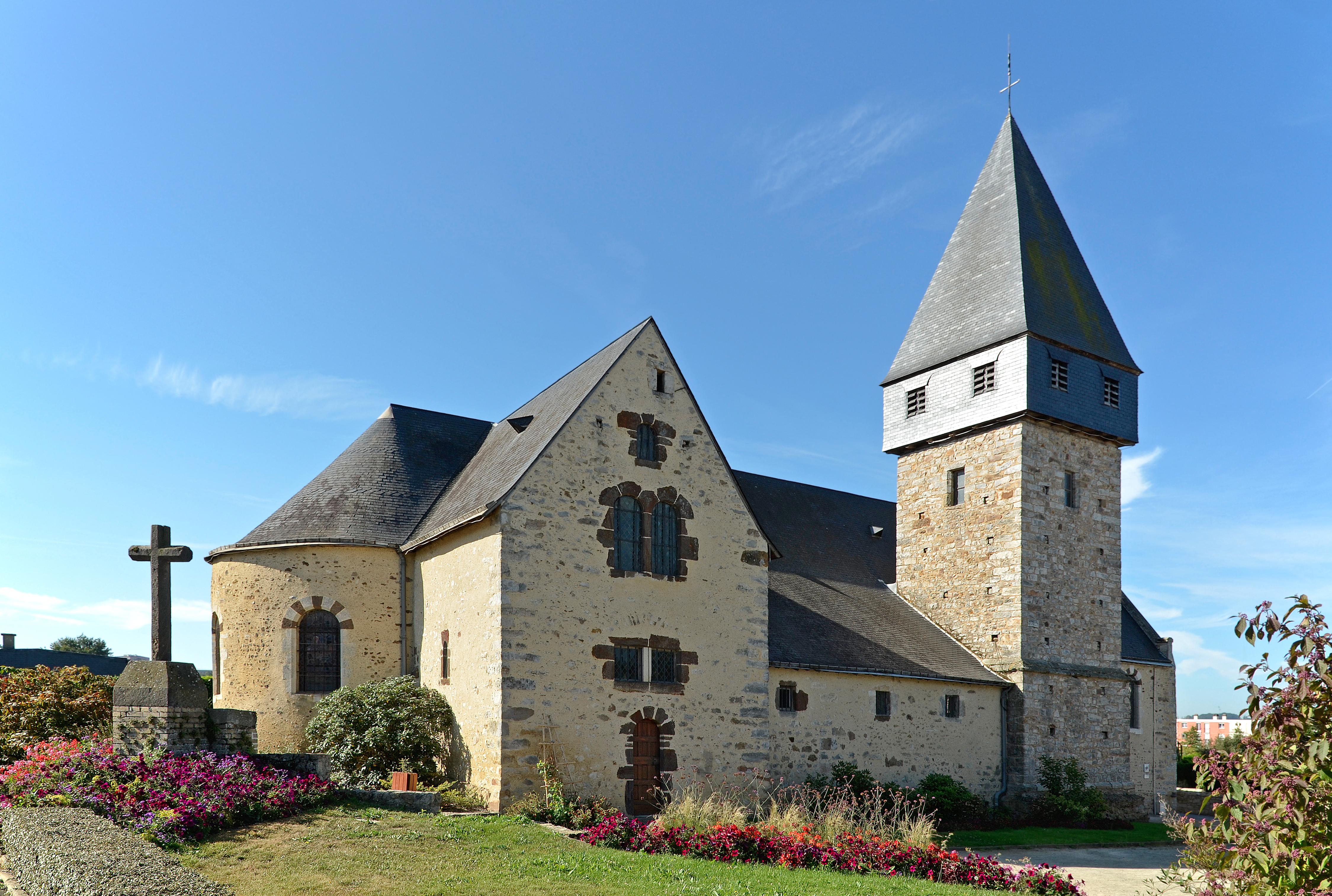 Église Saint-Nicolas de Coulaines — Wikipédia