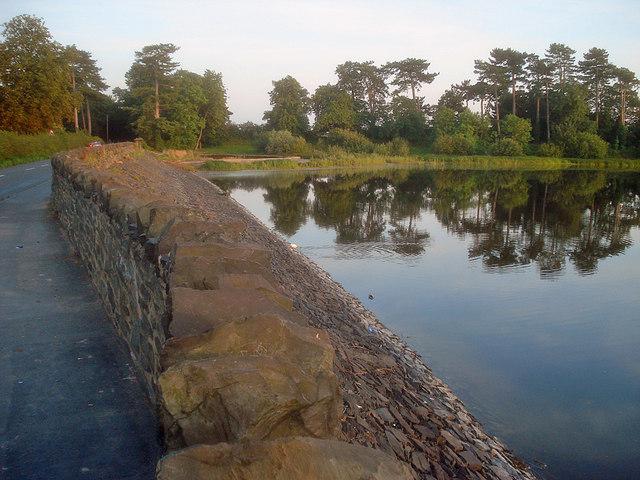 Cropston Reservoir dam - geograph.org.uk - 1476251
