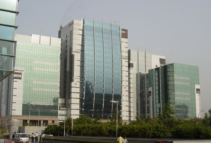 File:Cyber Green Building, Gurgaon, Haryana, India - 20070613.jpg