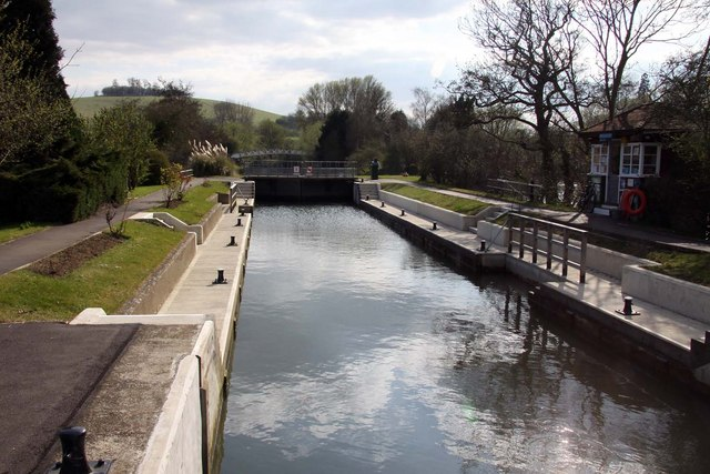 Day's Lock - geograph.org.uk - 1248219