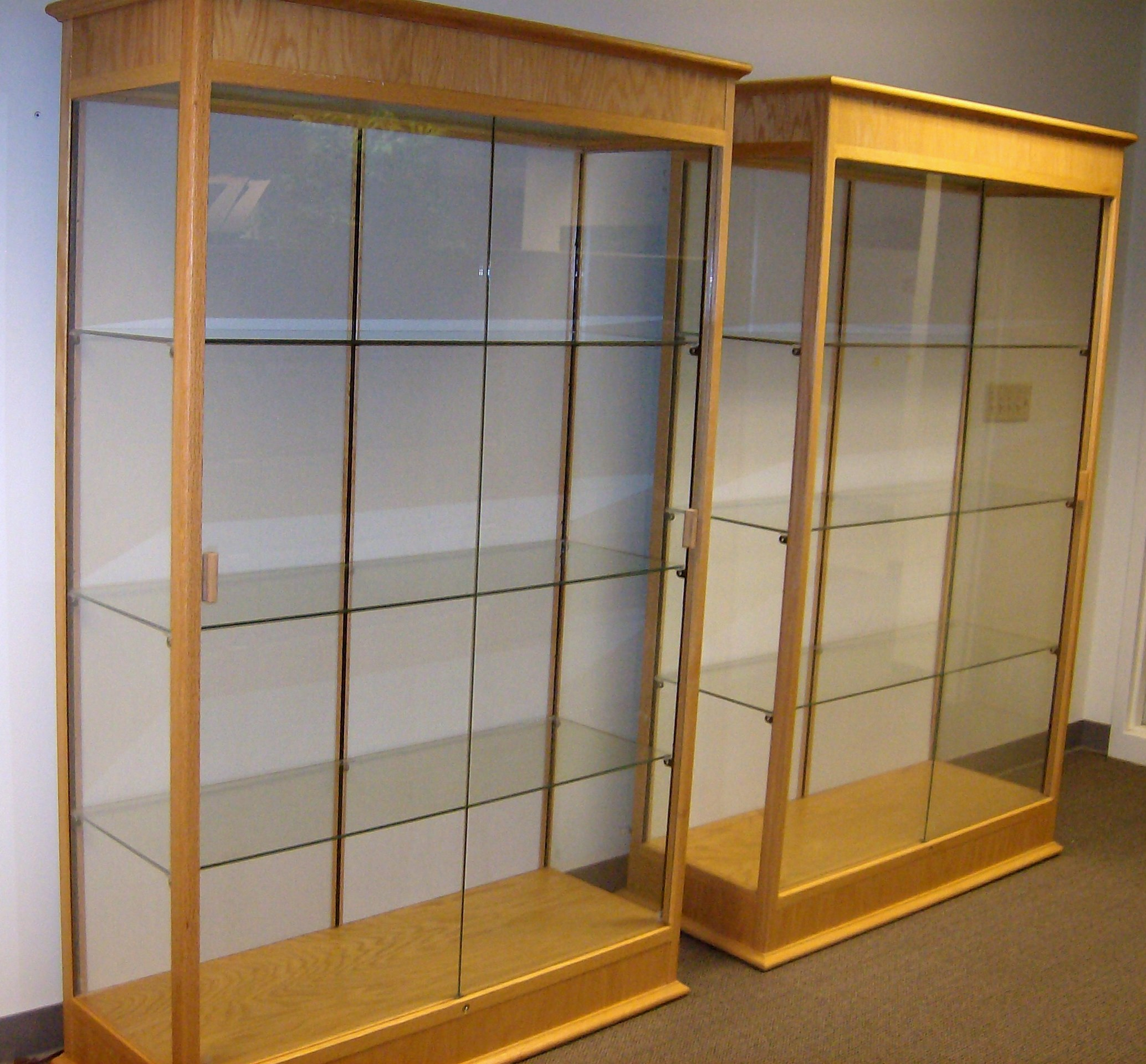 Sliding Glass Door Display Cabinet Images