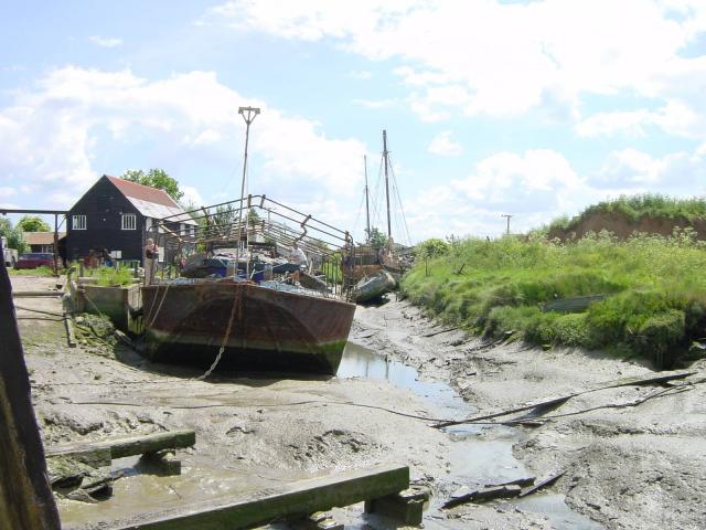 Dolphin Yard Sailing Barge Museum, Sittingbourne - geograph.org.uk - 1214