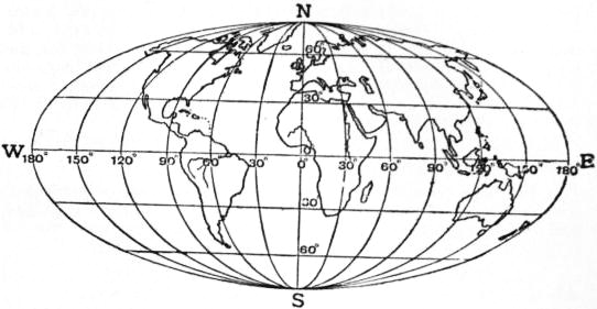 EB1911 - Map Projections- Fig. 25.—Elliptical equal-area Projection, showing the whole surface of the globe.jpg
