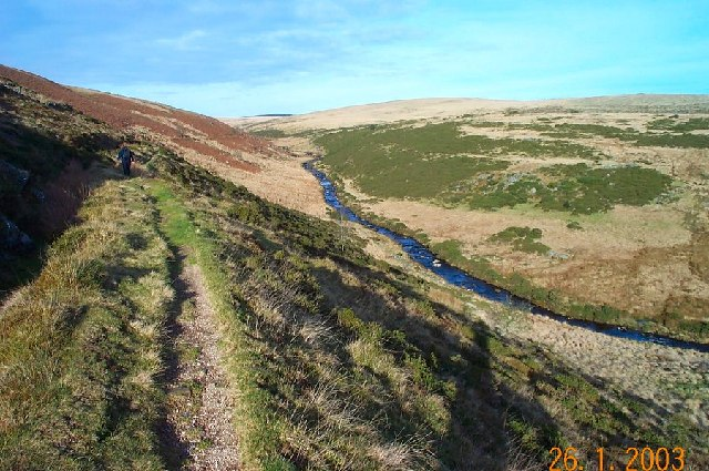 East Dart valley - Dartmoor - geograph.org.uk - 68658