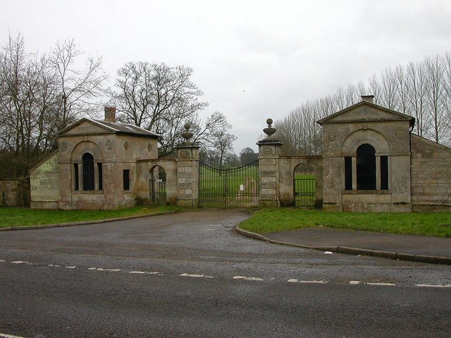 Easton Neston Park Entrance