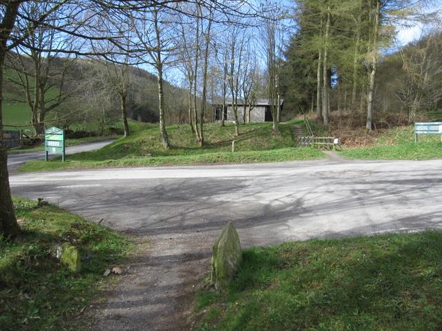 Moel Famau Lower Car Park Postcode
