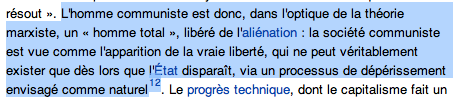 French Wikipedia Article Communisme1.png
