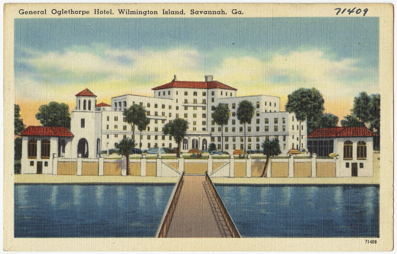 Hotels In Boston >> File:General Oglethorpe Hotel, Wilmington Island, Savannah, Ga. (8367062497).jpg - Wikimedia Commons