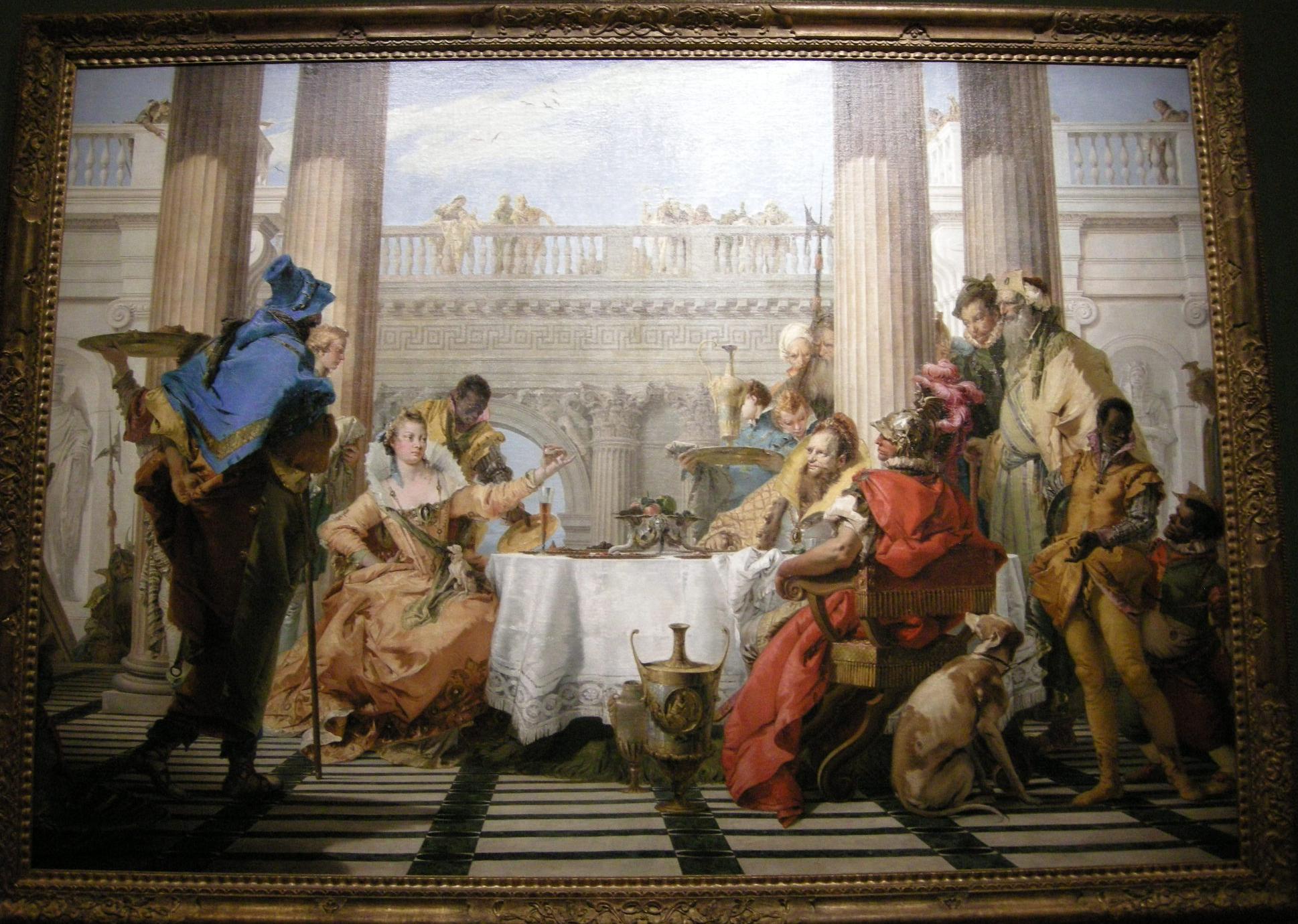 File:Giovanni Battista Tiepolo, banchetto di cleopatra, 1743-44.JPG