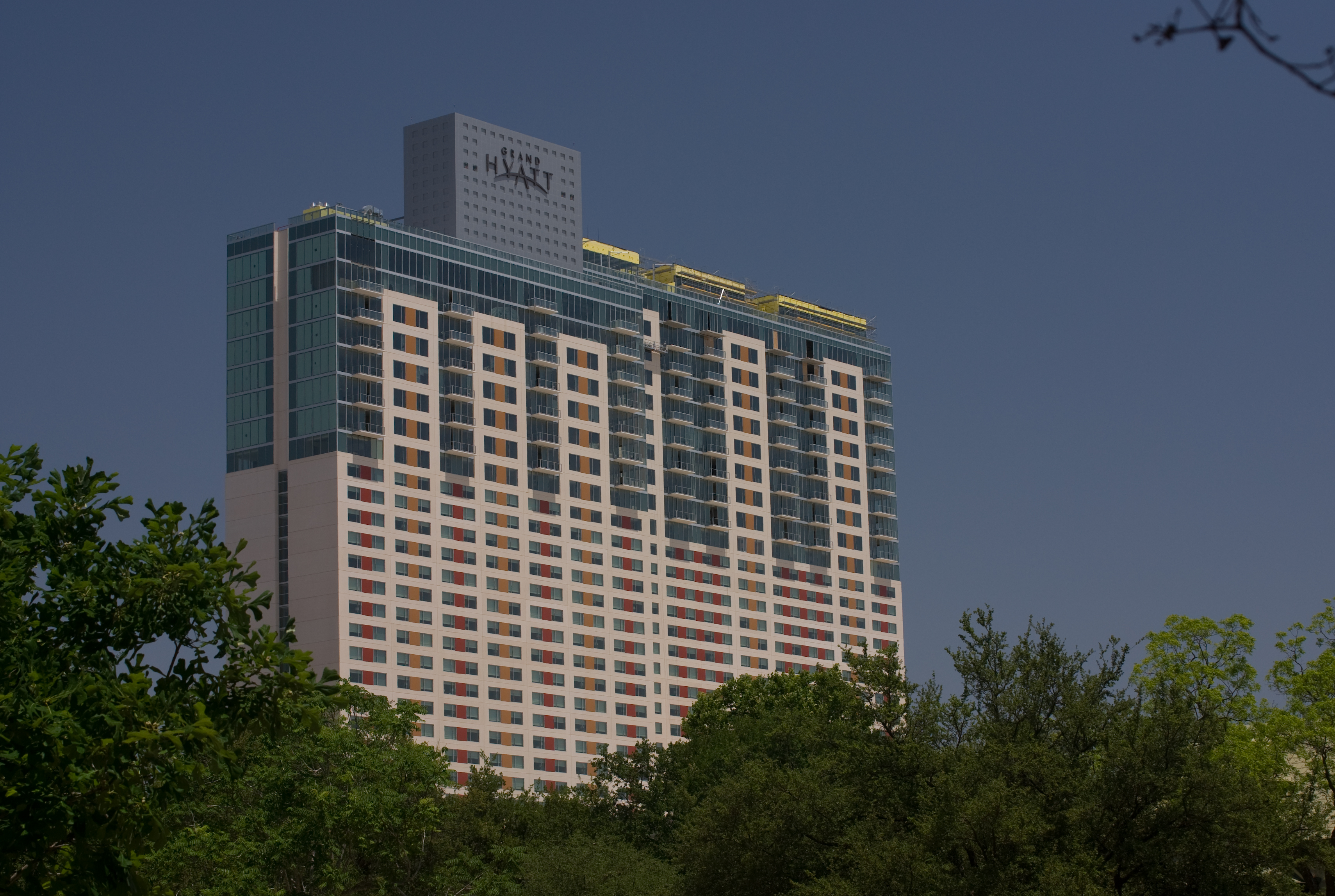File Grand Hyatt Hotel In Downtown San Antonio Jpg