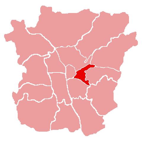 Lage des Bezirks St. Leonhard