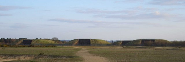 Greenham Common Bunkers - geograph.org.uk - 325266