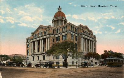Harris County Court House, Houston, Texas